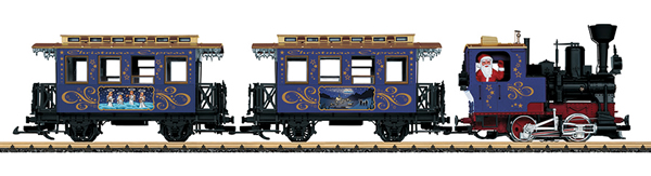 LGB 72305 - Starter set Christmas train 120 volts