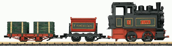 LGB 90202 - Battery Powered Steam Train Starter Set with Sound