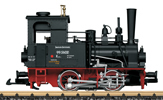 German Steam Locomotive 99 5602 of the DR (Sound)