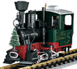 Christmas Steam Locomotive Stainz