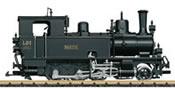 Swiss Steam Locomotive LD 1 Rhätia of the RhB (Sound)