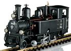 Swiss Steam Locomotive Heidi of the RhB (Sound)