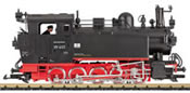German Steam Locomotive BR 99 653 of the DR (Sound)