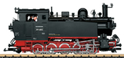 German Steam Locomotive 99 685 of the DR (Sound)