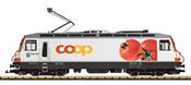 Swiss Electric Locomotive Ge 4/4 III Coop of the RhB