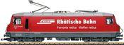 Swiss Electric Locomotive Class Ge 4/4 III of the RhB