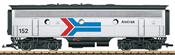 USA Diesel Locomotive Amtrak F7B (Sound)