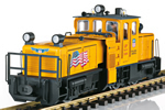 USA Track Cleaning Locomotive (Sound)