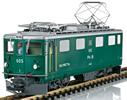Swiss Electric Locomotive Class Ge 4/4 I of the RHB (Sound)