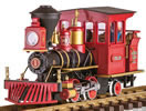 Grizzly Flats CHLOE Steam Locomotive