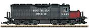 American Diesel Locomotive SD40 of the SP
