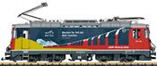 "Swiss Electric Locomotive ""RhB Club"" Class Ge 4/4 II of the RHB (Sound)"