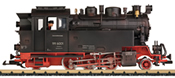 German Steam Locomotive 99 6001 of the DR