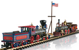 150th Anniversary Golden Spike Locomotive Set (Sound)