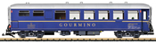 Swiss Dining Car WR 3811 of the RhB