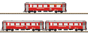3pc Swiss Bernina Car Set of the RhB