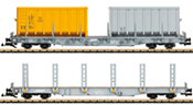 2pc Swiss Stake Car Set of the RhB