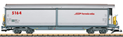 RhB Sliding Wall Boxcar no. 5164 - INSIDER MODEL