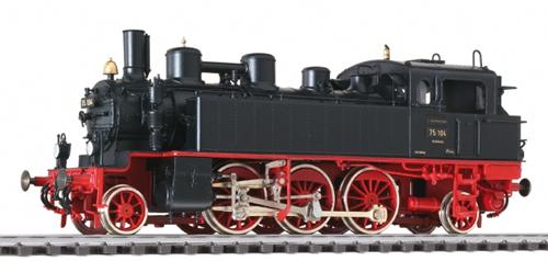Liliput 131187 - Tank Locomotive BR 75.1-3 72 290 DB Ep.III AC