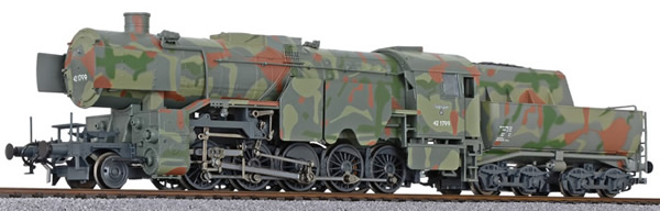 Liliput 131501 - German Steam Locomotive BR42 of the DRB - Camouflage