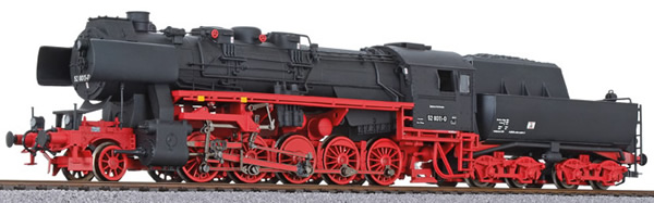 Liliput 131522 - German Steam Locomotive BR52 of the DR