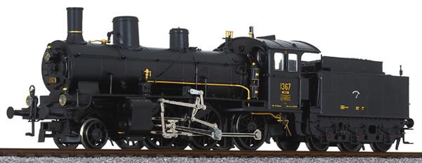 Liliput 131951 - Swiss Towing Steam Locomotive B 3/4 1367 of the SBB Museum