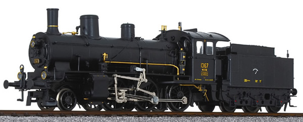 Liliput 131956 - Swiss Towing Steam Locomotive B 3/4 1367 of the SBB - Museum
