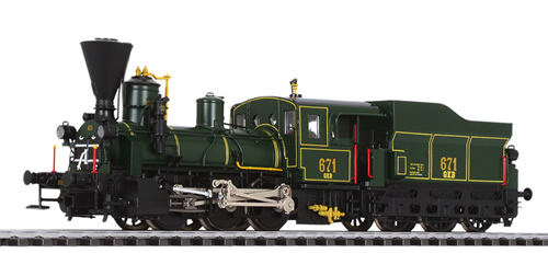 Liliput 131969 - Tender Locomotive Class 671 GKB (Preserved) Ep.VI