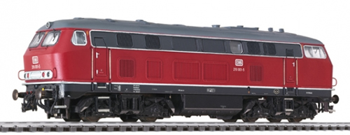 Liliput 132034 - Diesel Locomotive BR 219 Red DB Ep.IV AC Sound