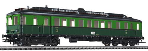 Liliput 133016 - Diesel Railcar 600.03 SNCB Ep.II
