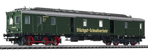 Liliput 133037 - Diesel Luggage Railcar VT 69 900 DB III WS