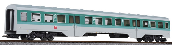 Liliput 133162 - Middle Passenger Car for BR 614 of the DB AG - Turquoise / Grey