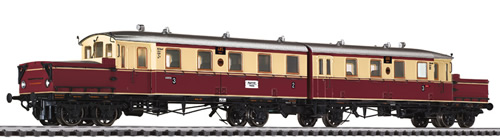Liliput 133503 - Accumulator Railcar AT 485/486 DRG Ep.II