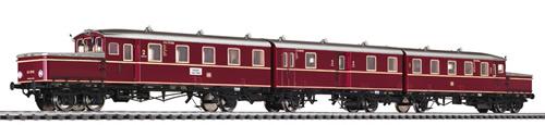 Liliput 133512 - Accumulator Railcar ETA 178 051 with Centre Coach DB Ep.III