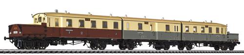 Liliput 133515 - Accumulator Railcar AT 535/535a/536 K.P.E.V Ep.I AC Dig.