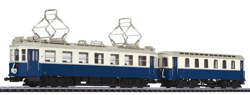 Liliput 133893 - Austrian Tramcars with Sidecar Vienna local railway AG
