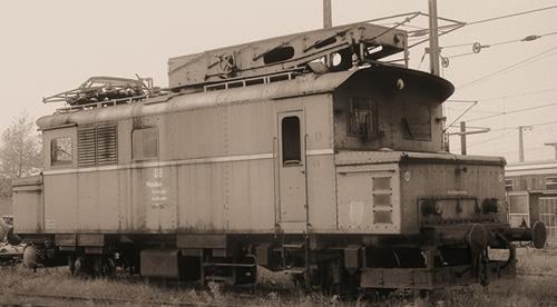 Liliput 136133 - Overhead Line Maint. Railcar 730 003-4 DB Ep.IV
