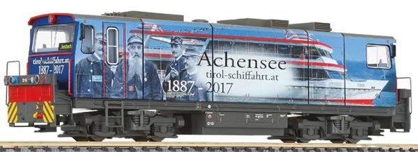 Liliput 142107 - Diesel Locomotive D15 of the Zillertalbahn, with advertising design of Tirol-Schiffahrt