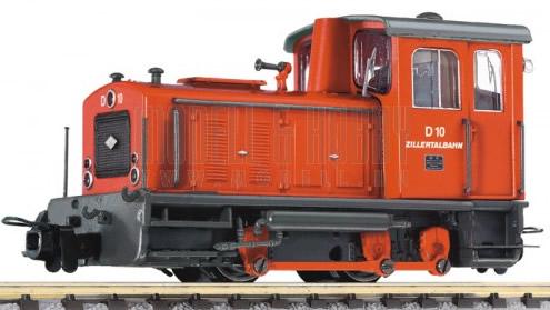 Liliput 142123 - Diesel Locomotive D10 Zillertal Ep.III