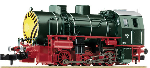 Liliput 161004 - Fireless Steam Locomotive Meiningen Type C GKW Ep. V