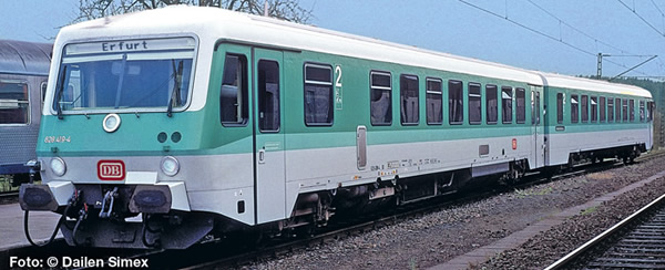 Liliput 163200 - German Diesel Railcar BR 628 419-4/928 419-1 of the DB AG