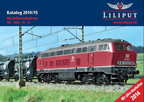 Liliput 2014 - Catalog 2014/2015 HO, HOe, N, G Scale
