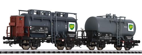Liliput 230139 - Tank Wagon Set BP DB Ep.III