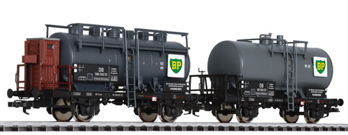 Liliput 230139 - Tank Wagon Set BP DB Ep.III