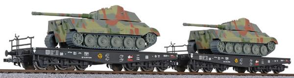 Liliput 230144 - 2pc tank transport set