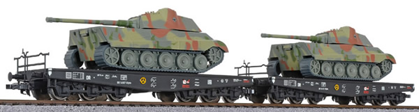 Liliput 230145 - 2pc tank transport set