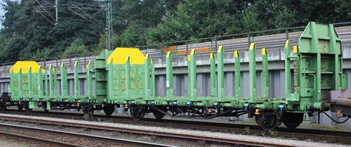 Liliput 235241 - Timber Carrier Wagon Laaps 565 B-VTG-F Ep.V/VI