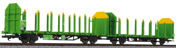 Liliput 235243 - Timber Carrier Wagon