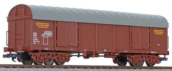 Liliput 235603 - Open wagon Eaos - Covered
