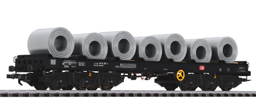 Liliput 235769 - Steel Transport Wagon with Steel Coil Load DB Ep.IV